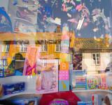 Toy Store window -Old Town Fredrikstad