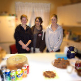 Hanna & Class mates - Flee market to raise money for their sixth formers car