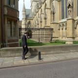Pedestrian with Cap, Cambridge.