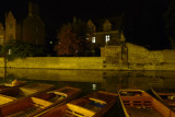 Resting Barges on Cam, Cambridge.