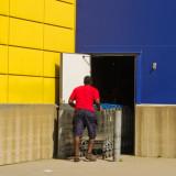 IKEA red T-shirt