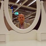 Mirror IKEA Bäckebol, Sweden
