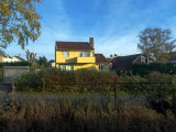 Yellow house Sarpsborg - From the Train