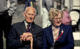 Halden May 1st 1986. Einar Gerhardsen - Prime Minister of Norway 1945 til 1951, 1955 - 1963 and1963 - 1965.
