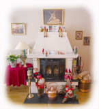 Fireplace with Nisser