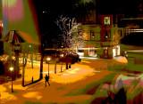 New Year's night Halden