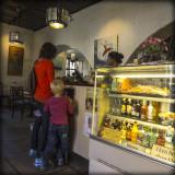 Fredrikstad, Old Town, Norway - Café
