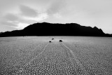 Racetrack Playa (Moving Rocks), Death Valley National Park, California, USA