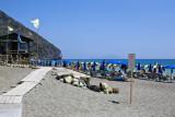 Maronti Beach with Capri Island on the background - Ischia