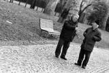 Chatting in Parco delle Basiliche