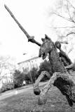 Statue in Giardini Indro Montanelli