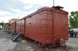 26 Narrow gauge box car used for strorage