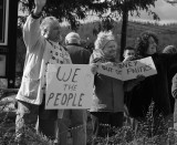 Occupy Hendersonville Courthouse Demonstration - 11-17-11