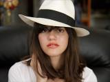 Ella with my hat.jpg