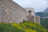 White Bastion - strongest point of the old Vratnik Fort erected 1729-1739 on the site of a 14th C. castle