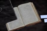 Hebrew book at the Jewish Musuem of Bosnia & Herzegovina