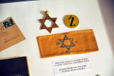 Badges worn by Jews in Yugoslavia during World War II