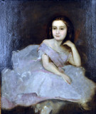 Edgar Degas, Neice of the Painter as a Ballerina