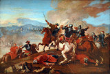 Francesco Simonini, Equestrian Battle