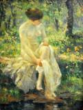Pierre-Auguste Renoir, Bather