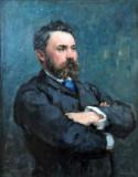 Edouard Manet, Portrait of Emmanuel Chabriera