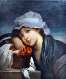Prema Jean-Baptiste Greuzeu, Girl with a Basket