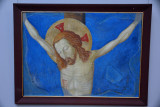 Circle of Simone Martini, Crucifixion, 14th C.