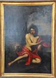 Follower of Caravaggio, St. John the Baptist in the Desert