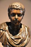 Portrait of a Roman Prince, bronze copy of an ancient original