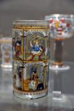 Lebensalterglas, German, 16-17 Century
