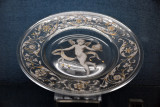 Saucer with cupid, Venice, 19th C.