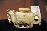 Jade teapot in the form of a Phoenix, China, XVIII-XIX Century