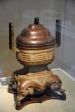 Incense burner, China, 18th C.