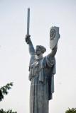 Motherland statue by  Yevgeny Vuchetich