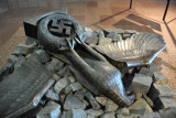 Broken Nazi eagle, Great Patriotic War Museum
