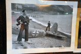 Historic Photograph - Soviet Sailor with a shot down German plane, 1943