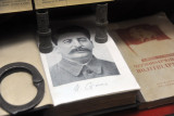 Book with a signed photograph of Joseph Stalin