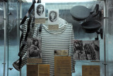 Striped shirts and caps of the Soviet Navy