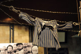 Uniform shirt from a German concentration camp