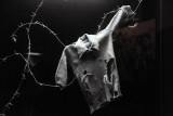 Ripped shirt and barbed wire - Great Patriotic War Museum