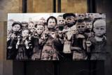 Historic Photograph - children behind barbed wire