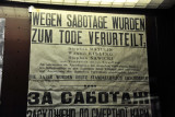Kiev under occupation - Death penalty for sabotage, 1942