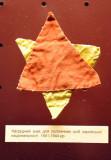 Concentration camp badge for Jewish political prisoners