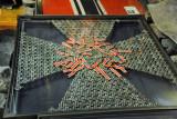 Iron Cross made of captured Iron Crosses, Great Patriotic War Museum