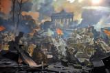 Diorama - the Fall of Berlin - Soviet army at the Brandenburg Gate