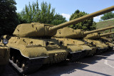 Soviet IS-2 Tanks, Exhibition of Military Equipment, Kiev