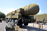 RSD-10 Pioneer Rocket Launcher (SS-20) intermediate range ballistic missile removed from service in 1988 under the INF Treaty