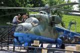 Soviet Mi-24 Helicopter Gunship Hind