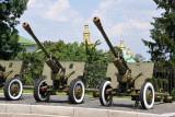 Soviet Artillery outside the Great Patriotic War Museum