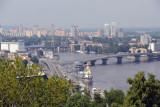 Havansky Bridge, Dniper River, Kyiv